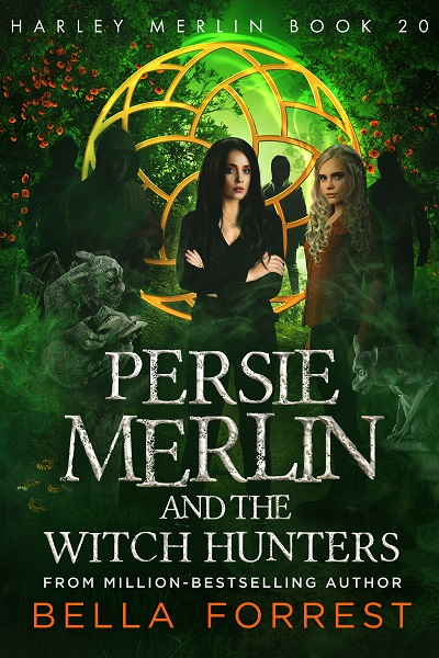 Persie Merlin and the Witch Hunters